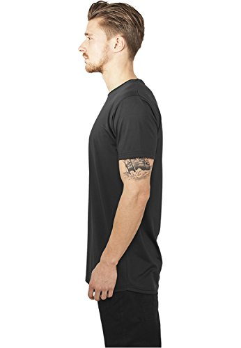 Urban Classic Herren Oberteile/Tall Tees Shaped Neopren Long Schwarz (Black 00007)