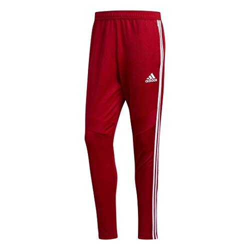 adidas Herren Tiro19 Trainingshose, Herren, Tiro19 Training Pants, Power Red/White, Medium