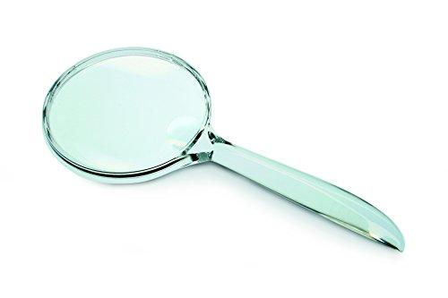 Kronus konusclear Transparent Asphärische Lupe, Unisex, KONUSCLEAR, Silber, 3x-5x
