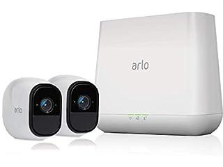 Arlo VMS4230-100EUS Pro Smart Caméra de Surveillance, Pack de 2,720p, Jour/Nuit, Grand Angle, 100% Sans Fils (B01LR8PG3O)   Amazon price tracker / tracking, Amazon price history charts, Amazon price watches, Amazon price drop alerts