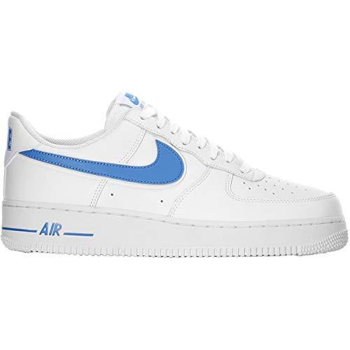 Nike Sneakers Air Force 1 '07 3 Bianco Celeste AO2423-100 (41 - Bianco)