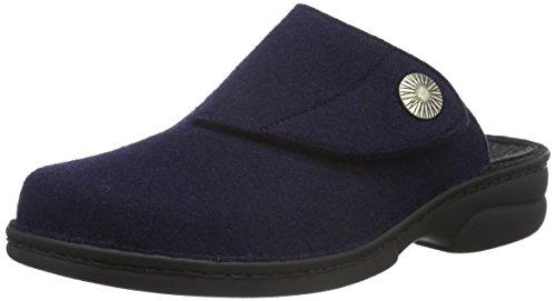 Berkemann Damen Donella Pantoffeln Blau (dunkelblau 350)