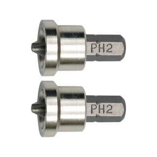 2 Phillips-Bits Bit mit Schutz Gr. PH2 Top Qualität