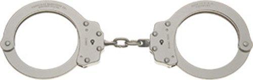 Peerless Handcuff Company Oversize Chain Link Handcuff, Nickel Finish by Peerless Handcuffs -