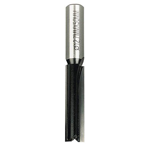 Trend 2-Flute Straight Cutter 1/2 Shank 12.7 x 50mm