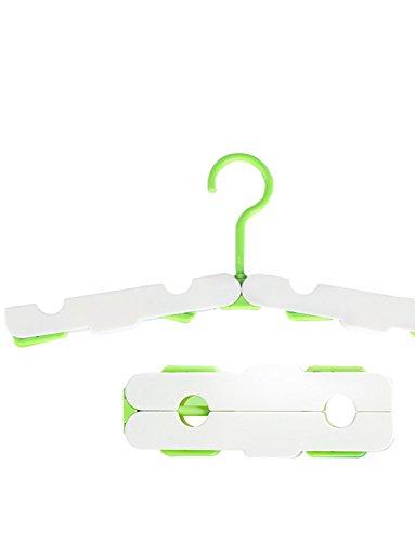 dyss 2Portable Reisen Zusammenklappbar Kleidung Flugzeughangar für Reisen, Wandern, Camping, Trekking, Outdoor grün