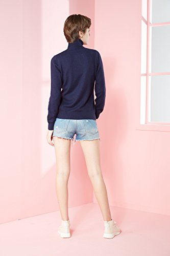 LongMing -  Maglione  - Donna Navy blue