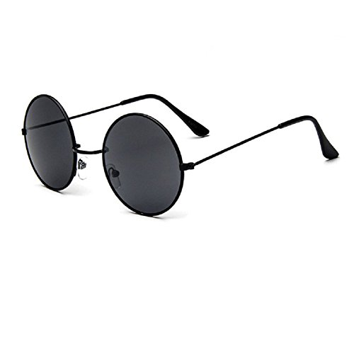 O-C Damen Sonnenbrille Schwarz Schwarz