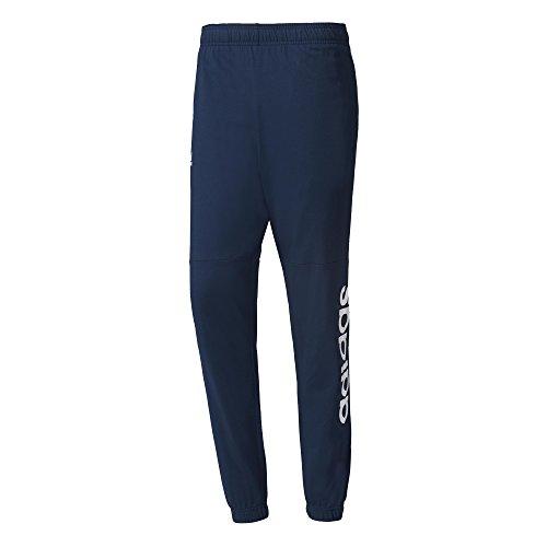 adidas ESS Lin T Pn Sj Pantalón de Chándal, Hombre, Azul (Maruni/Blanco), XL