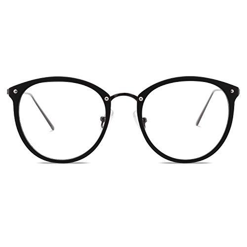 VANLINKER Computer Brillen mit Blaulichtfilter Transparente Gläser VL9001