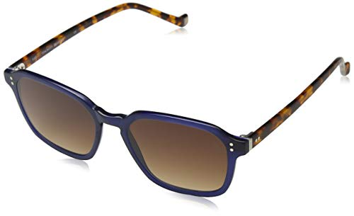 Hackett London Herren HSB86668352 Sonnenbrille, Blau (Azul), 52
