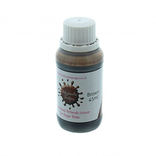 brown-water-based-airbrush-colour-for-sugar-paste-45ml-by-dinkydoodle