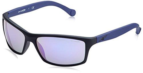 Arnette Herren 0AN4207 23684V 61 Sonnenbrille, Schwarz (Fuzzy Black/Mirrorviolet),