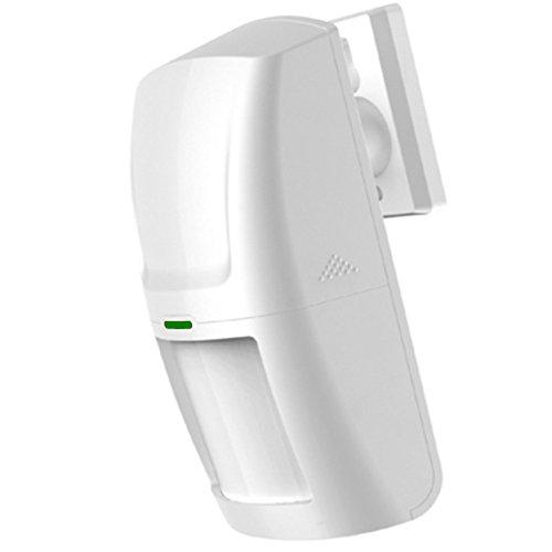 Italian alarm sensore di movimento professionale 433 mhz pir volumetrico wireless senza fili allarme casa nuovo modello risparmio energia lunga durata - modelli m2bx m2e ia13 iam2bx - batterie incluse