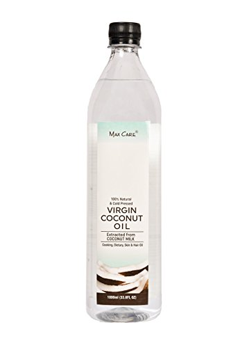 Max Care Cold Pressed Virgin Coconut Oil, 1L