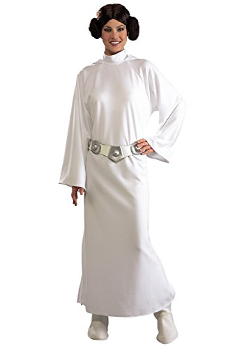 Kostüme Kid Prinzessin Leia (Rubies Kostüm Co. Inc Girls Damen Prinzessin Leia)