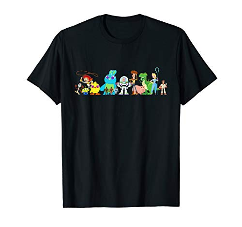 Disney Pixar Toy Story 4 Group of Friends T-Shirt
