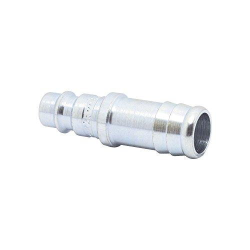 ELMAG 42638 Euro Druckluft Stecktülle aus Stahl für 9 mm Schlauch
