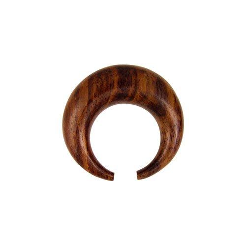 PIERCINGLINE® Holz Septum Büffelring - Sono 4 mm