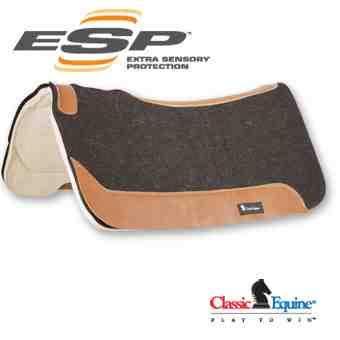 Classic Equine ESP Felt Top Pad -