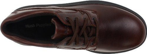 Hush Puppies Mens Glen Oxford,Dark Brown,10 M US Dark Brown