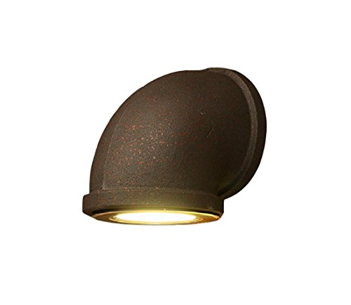 Rost Rohr Pipeline LED Wandleuchte, Industrial Retro Stil, Home Garden Courtyard Restaurant Cloth Store Creative Dekorative Beleuchtung Display Spotlights