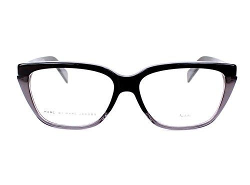 Marc by Marc Jacobs Montures de lunettes 646 Pour Femme Black / Grey J1H: Black / Grey
