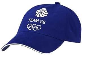 Official London 2012 Team GB Adult Baseball Cap (Blue)