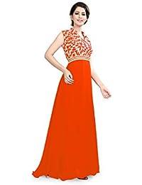 845f5222d4d K.K. Fashions Women s Geogrette Jhanvi Gown Free Size (jhanvi3 gown  P)