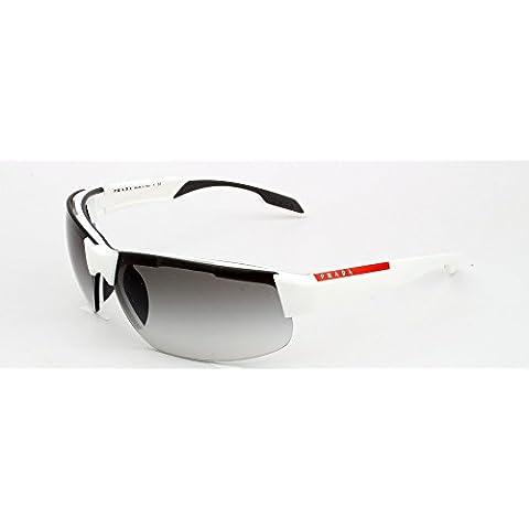 Gafas de Sol Prada Linea Rossa PS 03PS WHITE DEMI SHINY - GREY GRADIENT