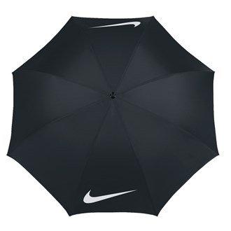 Nike Windproof–Regenschirm Golf - schwarz/weiß schwarz/weiß (Und Schwarz Regenschirm, Golf Weiß)