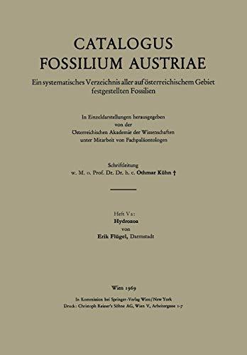 Hydrozoa (Catalogus Fossilium Austriae) (German Edition)