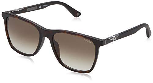 Police Herren Origins 1 Sonnenbrille, Braun (Matt Dark Havana/Brown), 56.0