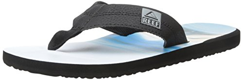 Reef Herren HT Prints Zehentrenner Schwarz Girl 2 RF2), 43 EU Reef Girls