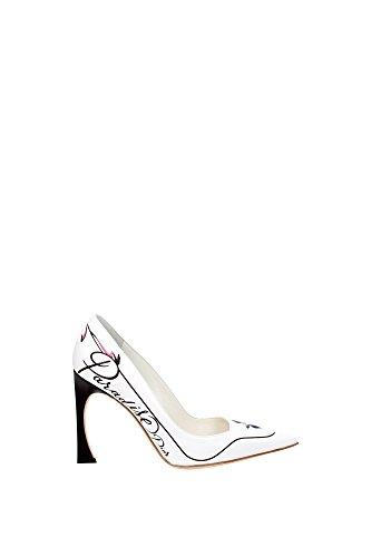 talon-christian-dior-femme-cuir-blanc-et-multicouleur-kcp093veas010-blanc-40eu