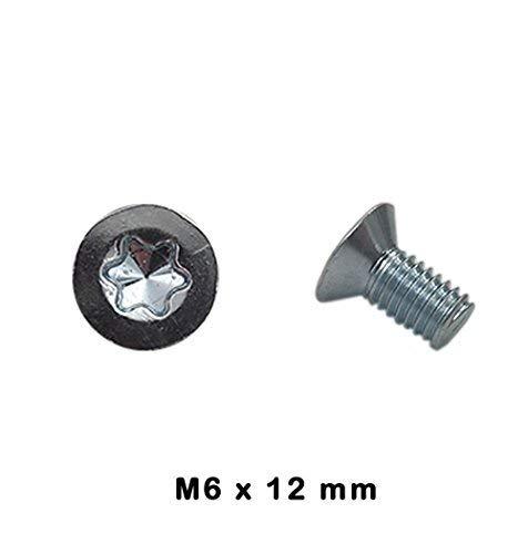 Lot de 4 Vis de disque de frein M6 x 12 classe 4,8