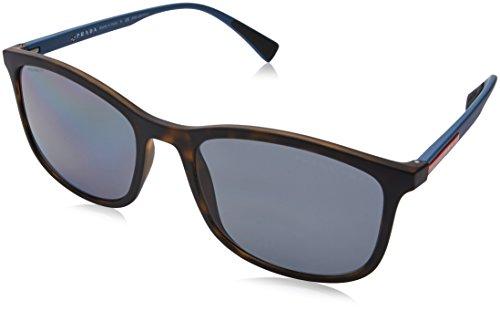 339aab383390 prada linea rossa. Prada Sport Men's 0PS01TS U61144 56 Sunglasses, Havana  Rubber/Polargrey
