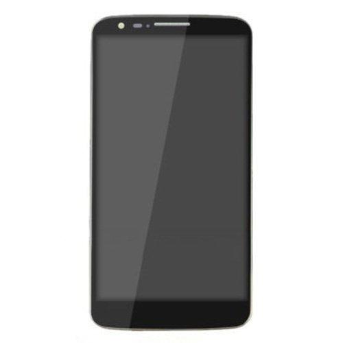 Tedbear Reparatur des LCD-Bildschirms LCD Display + Touch Panel mit Rahmen inklusive Reparatur-Toolset for LG G2 / D801 / D800 / D803 Glasscheibe Ersatz (Farbe : Black) (Lg G2 Display Lcd Austausch)
