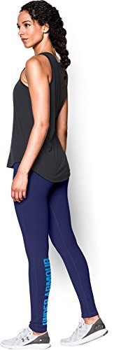 Under Armour Damen Fitness Hose und Shorts UA Favorite Leggings Wordmark, Epp/Jzb, XS, 1265417
