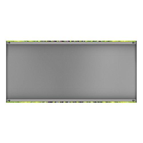 Apalis 108781 Magnettafel Kiwi Heart Memoboard Design Quer Metall Magnet Pinnwand Motiv Wand Stahl Küche Büro, 37 x 78 cm - 4