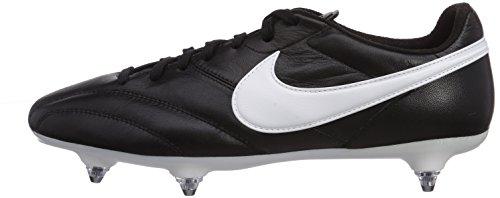 Nike Herren The Premier SG Fußballschuhe, Schwarz (Black/Summit White-Orange Blaze), 42 EU - 5