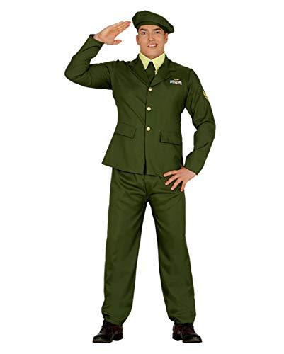 Militär Kostüm Herr General für Fasching & Mottoparty L