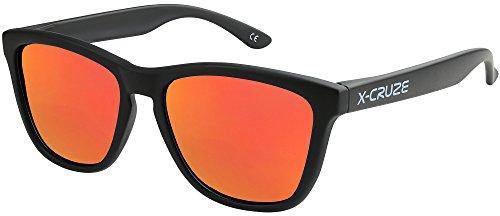 X-CRUZE 9-071 X0 Nerd Sonnenbrillen polarisiert Style Stil Retro Vintage Retro Unisex Herren Damen...