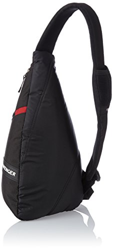 Wenger SA18302130 - Bolso bandolera (12 L), color negro