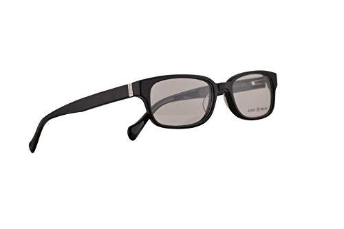 Lucky Brand Lincoln 50-17-140 Brille, mit transparenten Gläsern, Schwarz
