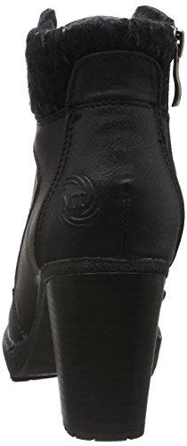 Marco Tozzi 25213, Bottes Rangers Femme Noir (BLACK ANT.COMB 096)