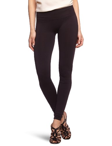 VILA CLOTHES Damen Legging 14015851 Seam Long Legging, Gr. 36/38 (S/M), Schwarz (BLACK)