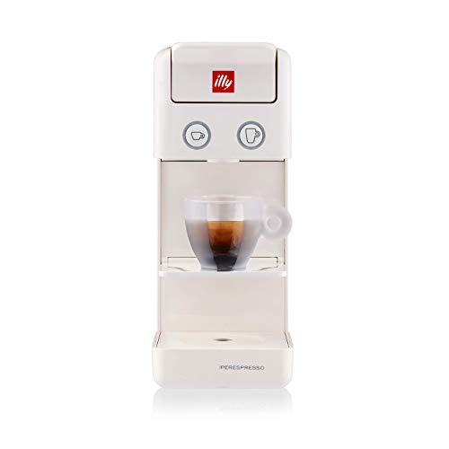 Illy Caffè máquina de Cápsulas Y3 Iperespresso, 850 W, 0.75 litros, plástico, Blanco