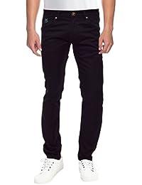 Raa Jeans Men's Slim Fit Jeans Raa015 Black