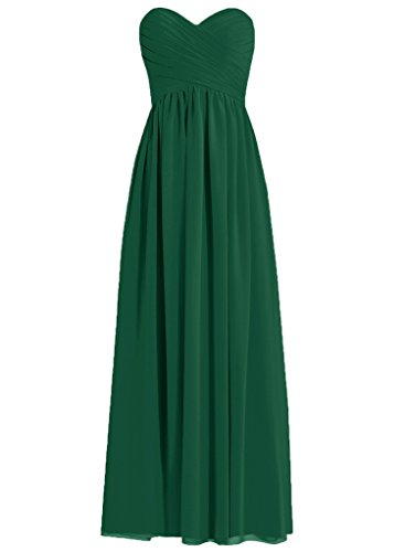 HUINI -  Vestito  - Donna Dark_Green